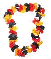 Hawaiikette schwarz / rot / gold