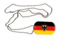 Dog Tag Fahne Deutschland Adler