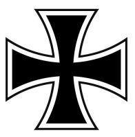 Aufkleber Sticker Deutschland Eisernes Kreuz