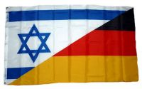 Fahne / Flagge Deutschland / Israel 90 x 150 cm