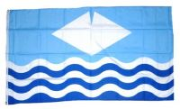 Fahne / Flagge Isle of Wight 90 x 150 cm