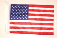 Bootsflagge USA 30 x 45 cm