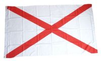 Fahne / Flagge Irland - St. Patricks Kreuz 90 x 150 cm