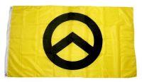 Fahne / Flagge Identitäre Bewegung gelb 90 x 150 cm