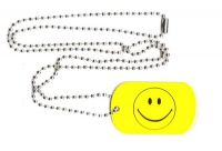 Dog Tag Fahne Smile