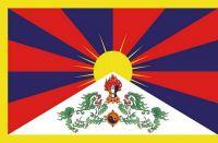 Fahnen Aufkleber Sticker Tibet