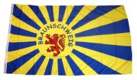Fahne / Flagge Fußball Braunschweig 90 x 150 cm