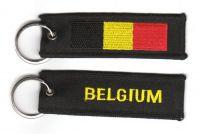 Fahnen Schlüsselanhänger Belgien