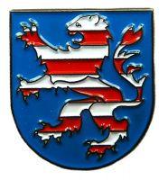 Pin Hessen Wappen Anstecker NEU Anstecknadel