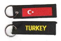 Fahnen Schlüsselanhänger Türkei
