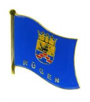 Flaggen Pin Fahne Rügen Pins NEU Anstecknadel Flagge