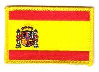 Fahnen Aufnäher Spanien