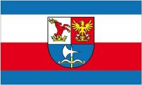 Fahne / Flagge Slowakei - Tren?ín 90 x 150 cm