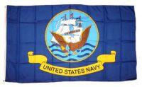 Fahne / Flagge US Navy blau 90 x 150 cm
