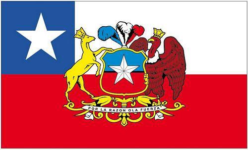 Flagge / Fahne Chile Präsident Hissflagge 90 x 150 cm