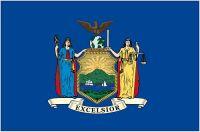 Fahnen Aufkleber Sticker USA - New York
