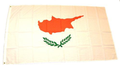 Flagge / Fahne Zypern Hissflagge 90 x 150 cm