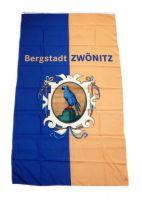 Flagge / Fahne Zwönitz Erzgebirge Hissflagge 90 x 150 cm
