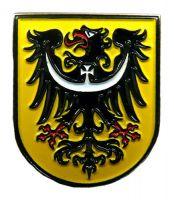 Pin Niederschlesien Wappen Anstecker NEU Anstecknadel