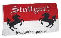 Fahne / Flagge Fußball Stuttgart 90 x 150 cm