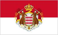 Flagge / Fahne Monaco Wappen Hissflagge 90 x 150 cm