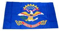 Fahne / Flagge USA - North Dakota 90 x 150 cm