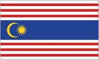 Flagge Fahne Malaysia - Kuala Lumpur  90 x 150 cm