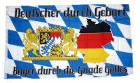 Fahne / Flagge Bayer durch die Gnade Gottes 90 x 150 cm