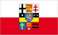 Fahne / Flagge Kurfürstentum Hessen Kurhessen 90 x 150 cm