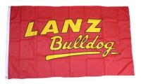 Fahne / Flagge Lanz Bulldog Schrift 90 x 150 cm