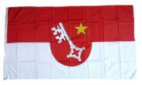 Flagge / Fahne Worms Hissflagge 90 x 150 cm