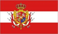Fahne / Flagge Großherzogtum Toskana 90 x 150 cm