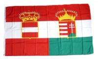 Fahne / Flagge Österreich Ungarn Handel 90 x 150 cm