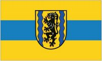 Fahne / Flagge Landkreis Nordsachsen 90 x 150 cm