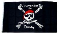Fahne / Flagge Pirat Surrender 90 x 150 cm