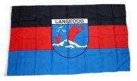 Flagge / Fahne Insel Langeoog Hissflagge 90 x 150 cm
