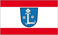 Fahne / Flagge Leer Ostfriesland 90 x 150 cm