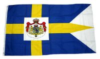 Flagge / Fahne Schweden Royal Hissflagge 90 x 150 cm