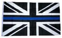 Fahne / Flagge Großbritannien schwarz 90 x 150 cm