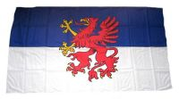 Fahne / Flagge Pommern 30 x 45 cm