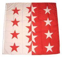 Fahne / Flagge Schweiz - Wallis 120 x 120 cm