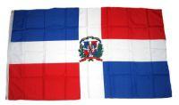 Flagge / Fahne Dominikanische Republik Hissflagge 90 x 150 cm