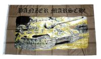 Fahne / Flagge Panzer Marsch 90 x 150 cm
