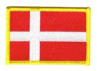 Fahnen Aufnäher Dänemark