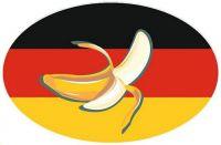 Wappen Aufkleber Sticker Bananenrepublik Deutschland