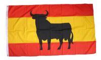 Fahne / Flagge Spanien - Osborne Stier 150 x 250 cm