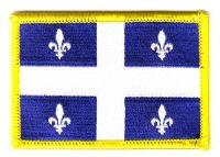 Fahnen Aufnäher Kanada - Quebec