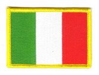 Fahnen Aufnäher Italien