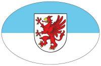 Wappen Aufkleber Sticker Vorpommern