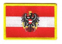 Fahnen Aufnäher Österreich Adler